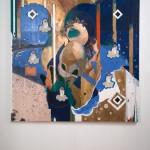 Victory, mix media on canvas, 72″ x 72″, 2012